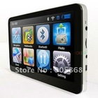 7 inch GPS Navigation Bluetooh+Av-In+FM Transmitter + 4GB memory