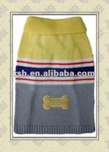 cute bone striped dog jumper RSH1300