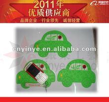 Cartoon Silicone Car Sticky Pad/Anti-slip Mat/Mobile phone non-slip mat