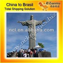 logistics agent Shanghai to Brasil