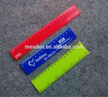Promocional plástico 6 pulgadas gobernante