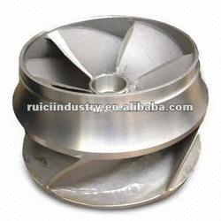lost wax stainless steel pump impeller