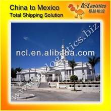 Shipping from Shanghai to Guadalajara,Mexico