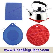 Heat resistance kitchen silicon pad