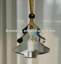 Plumbiferous crystal figurine(Christmas tree pendant)