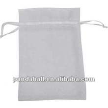 Drawstring Organza Ribbon Bags for Valentine Decoration(OP-A001-5)