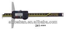 Stainless Steel Multi-functional LCD Digital Depth Gauges 0-1000mm