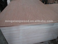 two times hot pressed furniture grade plywood