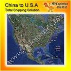 Shanghai/Ningbo international transportation logistics to US service