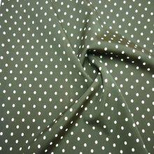 Swimwear Print Nylon Knitting ealstane spandex polka dot fabric black