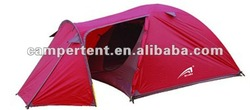 American style pink outdoor camping tent