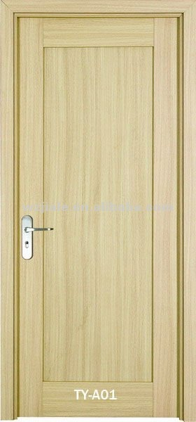 Home product categories interior wooden door simple for Simple wooden front door designs