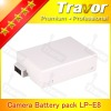 high capacity 7.4 volt lithium ion battery For Canon 550D,600D ,Rebel T2i,Rebel T3i DSLR Camera