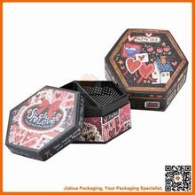 hexagon shape gift box