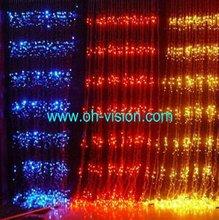 CE RoHS outdoor use led waterfall light/ christmas waterfall lights/