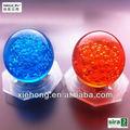 decoração led globo de acrílico bola