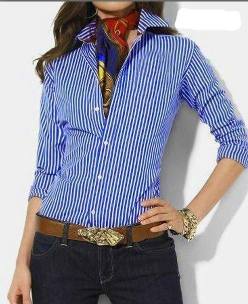 Estilos de camisas para damas - Imagui
