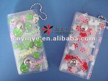 Customized Logo Printed Silicone Key Case/Bag,PVC Key Bag