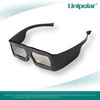 plastic linear polarized 3D glasses