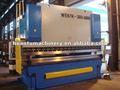 we67k hidráulica cnc placa de hierro de la máquina de flexión