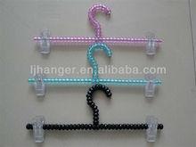 Clor Ball hanger,trousers hanger,Plastic beads hanger