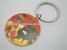 Spain Tourist Souvenir Spanish bullfighting round metal keyring