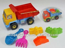 plastic kids mini sand beach toys