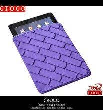 2012 hot!! CROCO EVA laptop sleeve for ipad