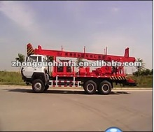 2012 the newest truck mounted water well drilling rig HFT-300ST