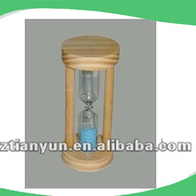 wooden hourglass sand timer Wooden sand glass AT-0123A