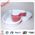 In ceramica bianca a forma di cuore di cereali nestlé Bowl/matc