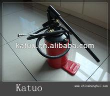 5KGS manual Grease Pump/ portable bucket grease pump