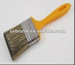 PET/bristle mixture paint brush