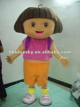 2012 popular dora the explorer mascots
