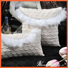 WL215 Modern Handmade Luxury Cushion Bedding