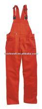 Men's workwear corduroy overalls