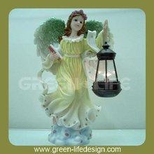 Decorative angel with small lantern