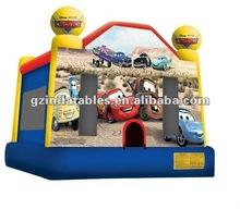 2012 new design inflatable Moonwalks Cars