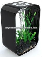 Black/Concise/Lucite acrylic fish tank/Aquarium