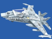 2012 newest plastic building blocks toy plane model ( 126 pcs)