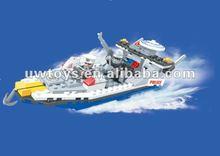 2012 newest assembled blocks toy vessel model ( 215 pcs)