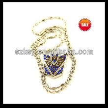 customized alloy decoration necklace ksy-0901