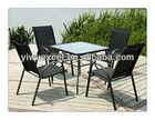 Outdoor Garden Furniture Metal Table Chair Set