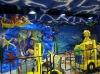 Park attractions, fiber glass life size animal ,Amusement park project
