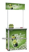cheap price and high quality aluminum promotional table on a
