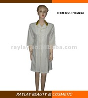 polyester loose coverall salon spa beautician uniform for women