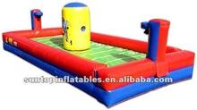 buona qualità di aria gonfiabili gonfiabili cordadigomma basket gioco per adulti e bambini