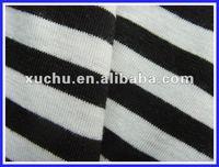 t/r yarn dyed stripe knit fabric