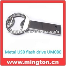 Stainless metal usb bottle opener