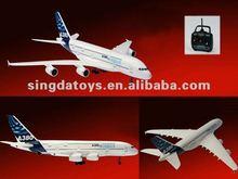 2.4G 4 Channel Remote Control A380 RC Plane